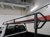 Thule TracRac Universal Steel Rac Truck Bed Ladder Rack w/ Over-the-Cab Extension - 1,000 lbs 3 Bar TH91000 on 2005 ford f 250 and f 350 super duty