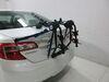 TH910XT - Adjustable Arms Thule Trunk Bike Racks on 2012 Toyota Camry