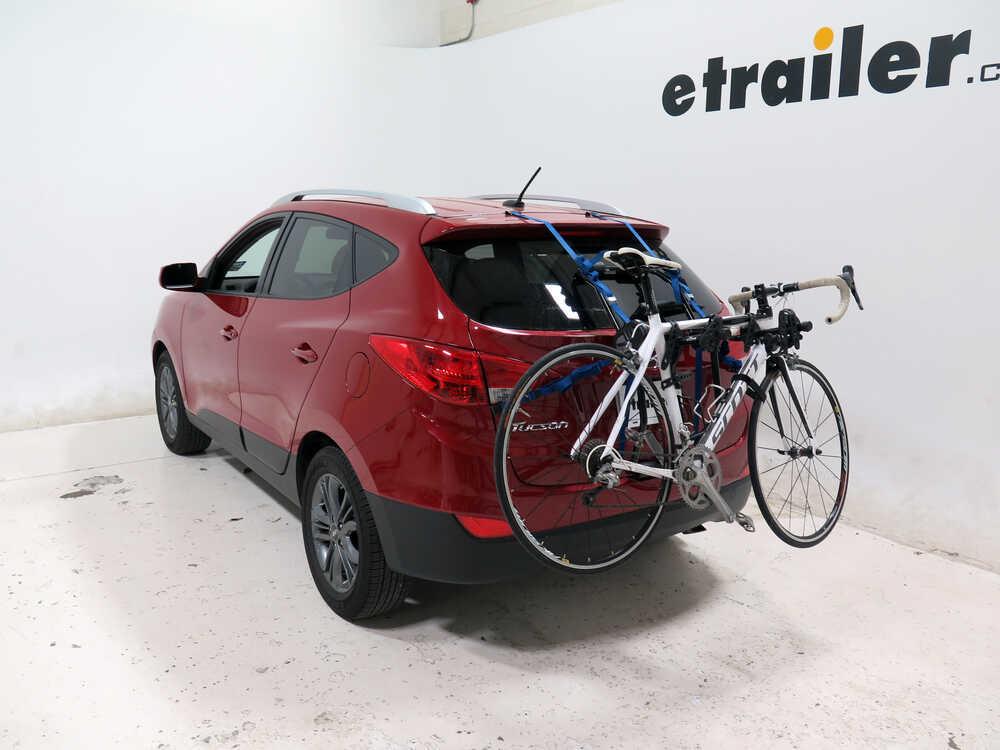 2014 Hyundai Tucson Thule Passage 2 Bike Carrier Trunk Mount