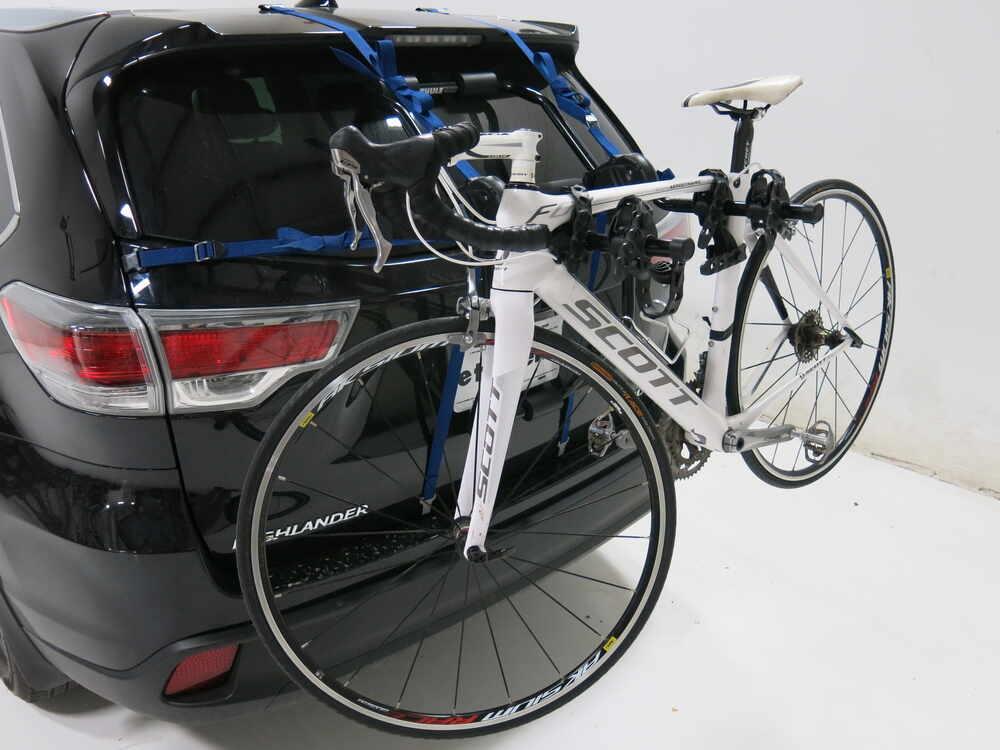 Toyota Highlander Thule Passage 2 Bike Carrier Trunk Mount