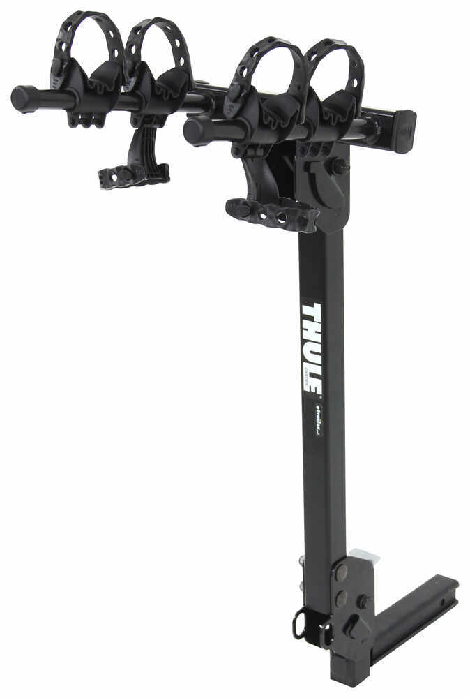 thule roadway 2 bike rack 1 1 4 and 2 hitches tilting thule hitch bike racks th912xtr. Black Bedroom Furniture Sets. Home Design Ideas