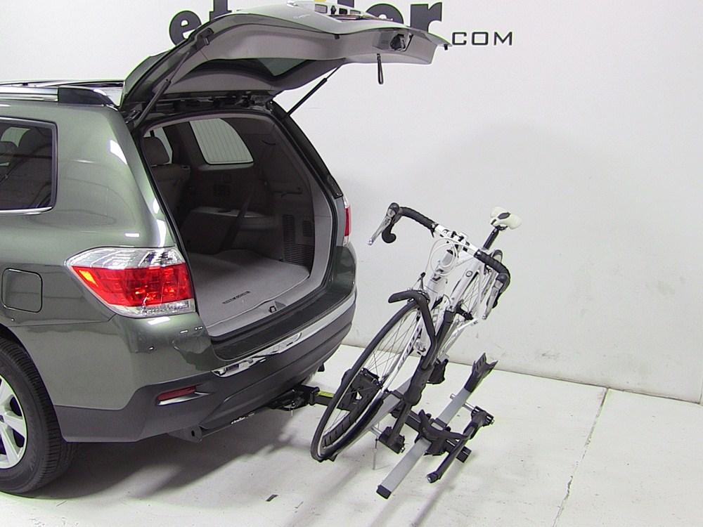 Toyota Highlander Thule T2 2 Bike Rack Platform Style