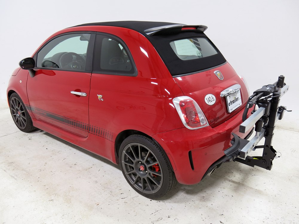 2013 fiat 500 thule t2 platform style 2 bike carrier with integrated cable lock 1 1 4 hitches. Black Bedroom Furniture Sets. Home Design Ideas
