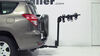 "Thule Hitching Post Pro - Folding Tilting 4 Bike Rack w Anti-Sway - 1-1/4"" and 2"" Hitches Tilt-Away Rack,Fold-Up Rack TH934XTR on 2012 Toyot"