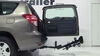 "Thule Hitching Post Pro - Folding Tilting 4 Bike Rack w Anti-Sway - 1-1/4"" and 2"" Hitches 4 Bikes TH934XTR on 2012 Toyota RAV4"