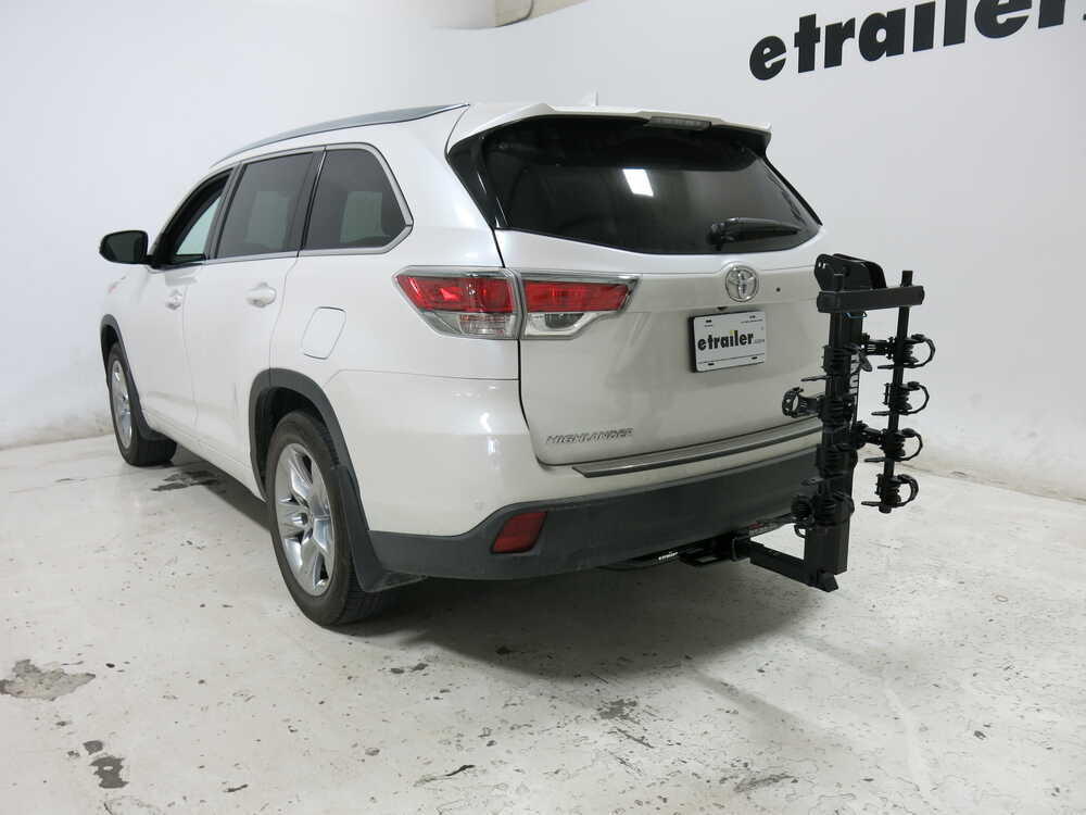 2016 toyota highlander thule hitching post pro folding tilting 4 bike rack w anti sway 1 1 4. Black Bedroom Furniture Sets. Home Design Ideas