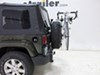 Thule Spare Me 2 Bike Rack - Spare Tire Mount - Folding Dual Arms 2 Bikes TH963PRO on 2015 Jeep Wrangler Unlimited