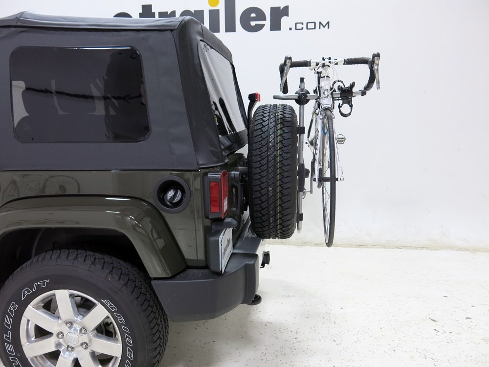 2016 Jeep Wrangler Unlimited Spare Tire Bike Racks Thule
