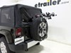 Spare Tire Bike Racks TH963PRO - Hanging Rack - Thule on 2015 Jeep Wrangler Unlimited
