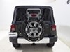 Thule Hanging Rack Spare Tire Bike Racks - TH963PRO on 2015 Jeep Wrangler Unlimited