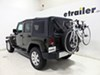 TH963PRO - 2 Bikes Thule Spare Tire Bike Racks on 2015 Jeep Wrangler Unlimited