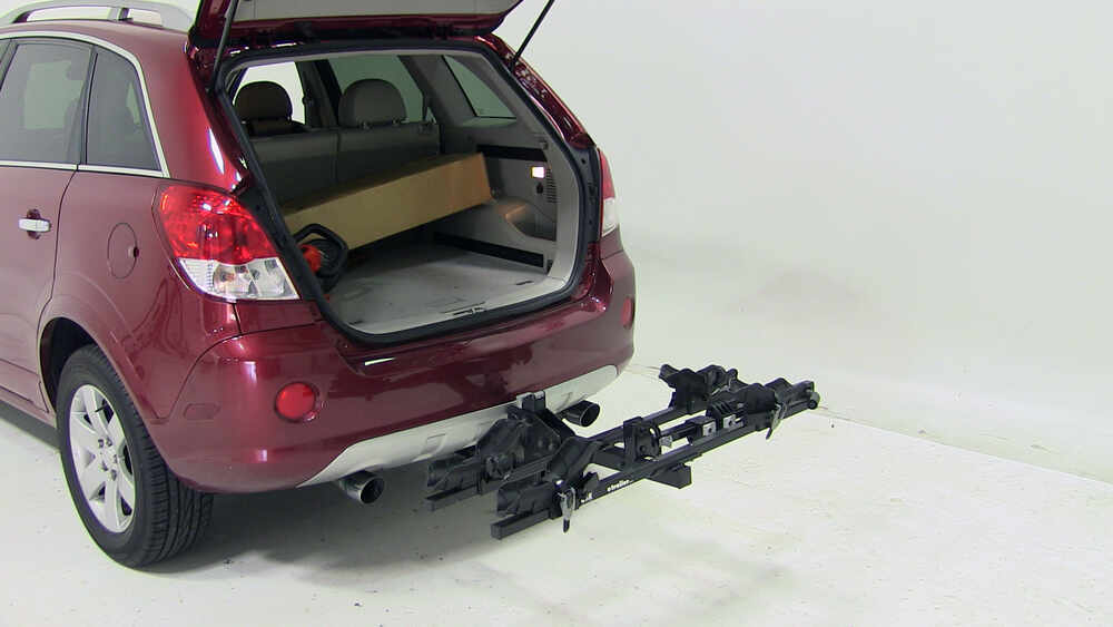 2008 saturn vue thule doubletrack platform style 2 bike rack for 1 1 4 and 2 hitches hitch mount. Black Bedroom Furniture Sets. Home Design Ideas