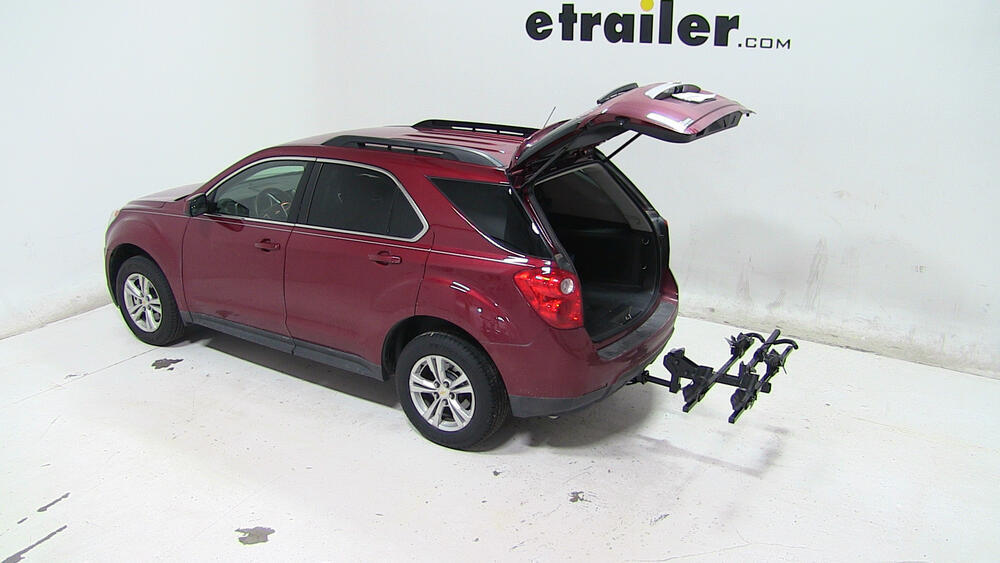 2015 chevrolet equinox thule doubletrack platform style 2 bike rack for 1 1 4 and 2 hitches. Black Bedroom Furniture Sets. Home Design Ideas