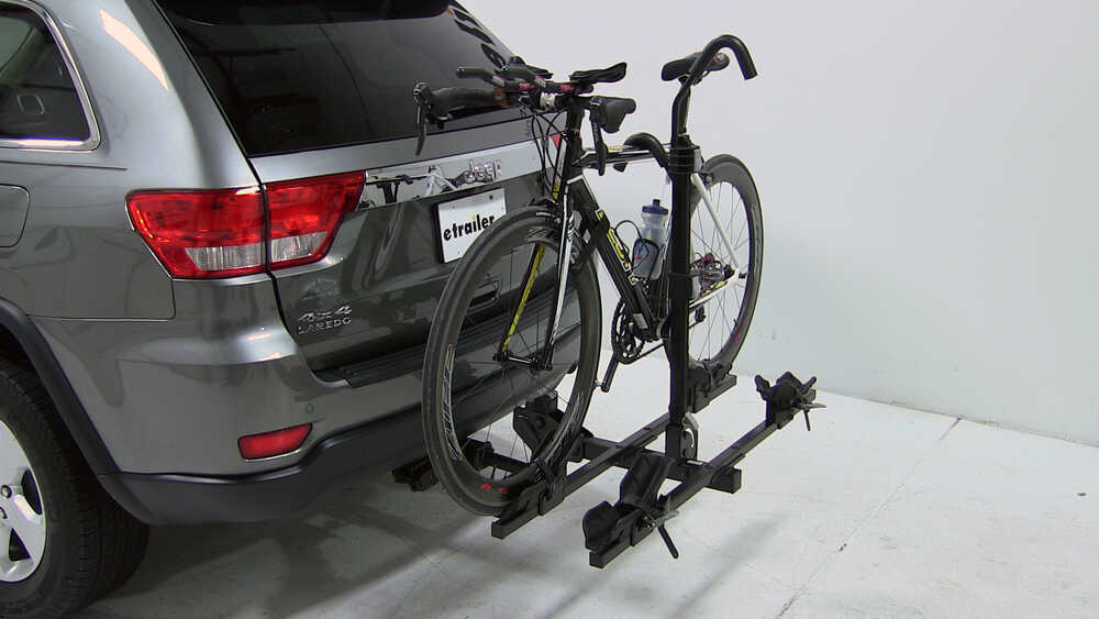 2014 jeep grand cherokee thule doubletrack platform style 2 bike rack for 1 1 4 and 2 hitches. Black Bedroom Furniture Sets. Home Design Ideas