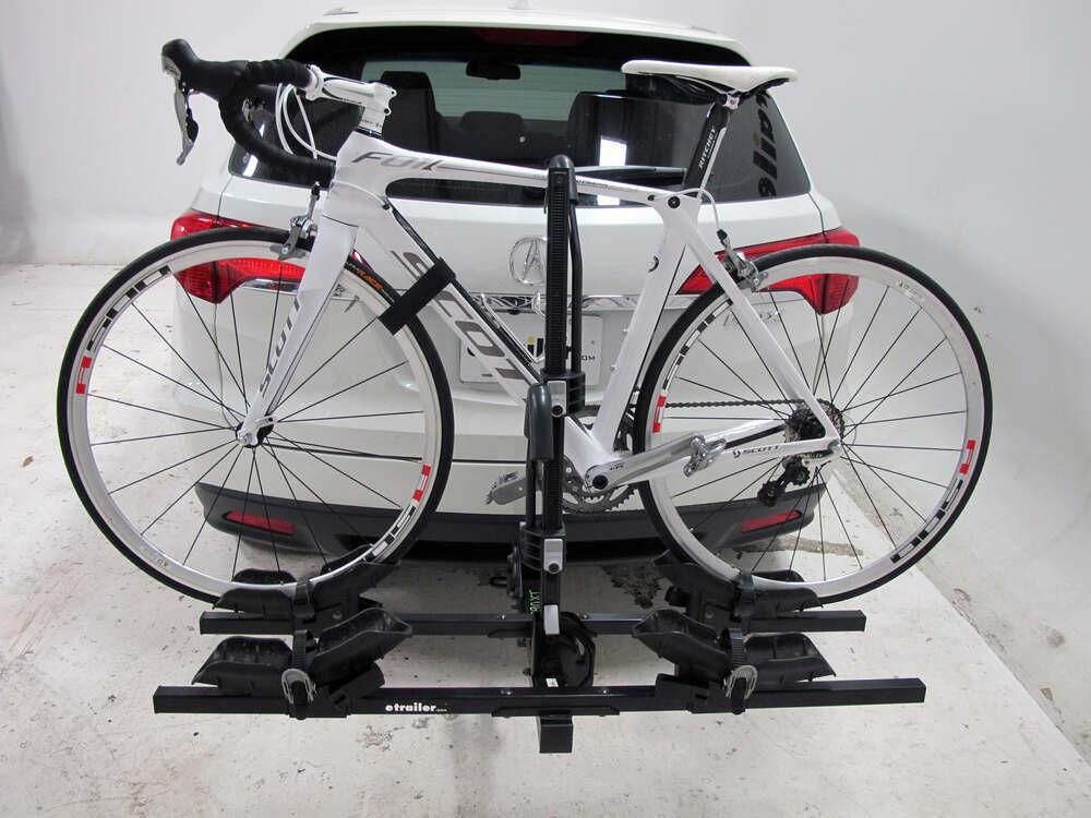 acura rdx thule doubletrack platform style 2 bike rack for