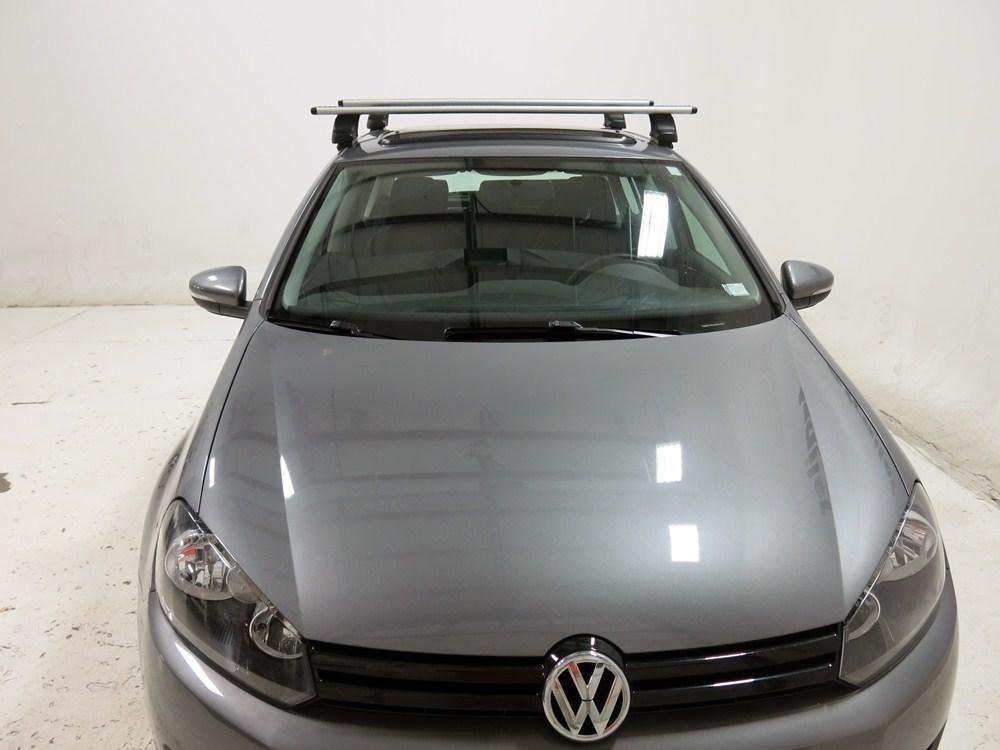 thule roof rack for 2012 golf by volkswagen. Black Bedroom Furniture Sets. Home Design Ideas