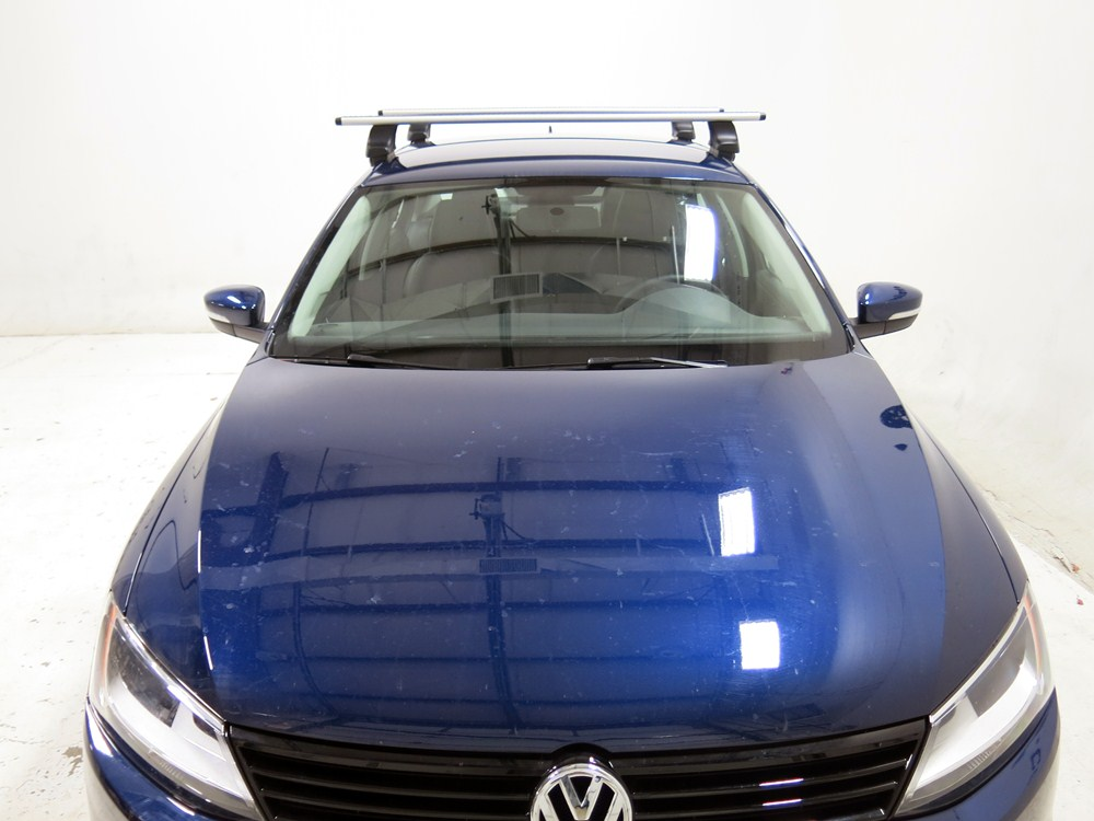 Thule Roof Rack For 2012 Jetta By Volkswagen Etrailer Com