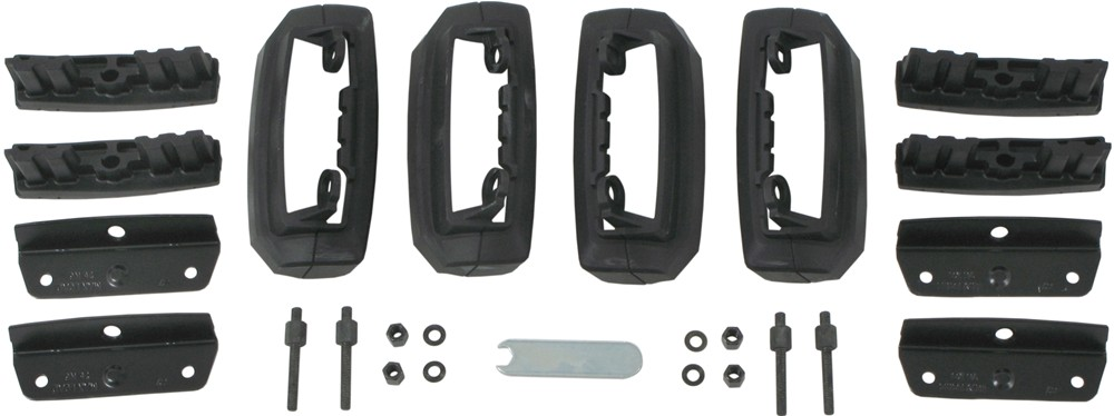 thule 755 foot pack fitting instructions
