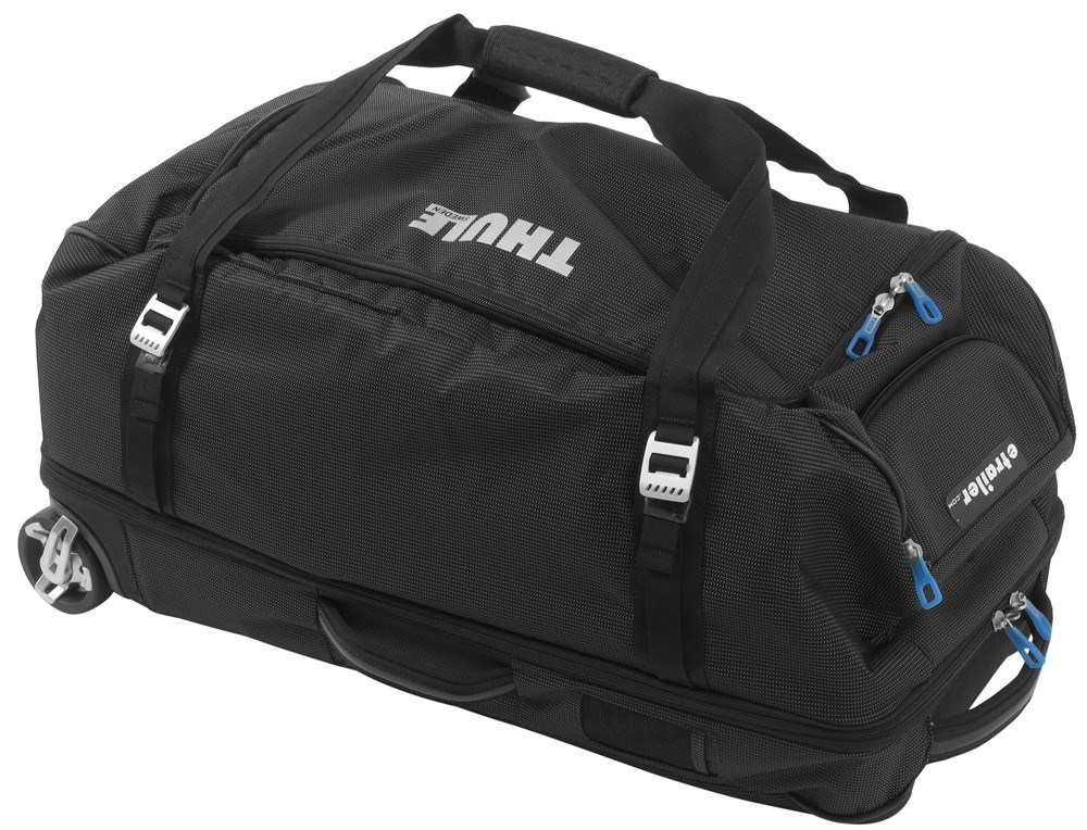 2f21a6297 Thule Crossover Rolling Duffel Bag - 87 Liter - Black Thule Luggage  THTCRD-2BGD