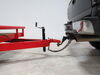 "Round A-Frame Trailer Jack - Topwind - 14-1/8"" Travel - 5,000 lbs No Wheel or Foot TJA-5000-B"