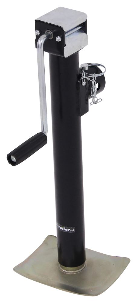 Trailer Jack TJP-7002S-B - No Drop Leg - etrailer