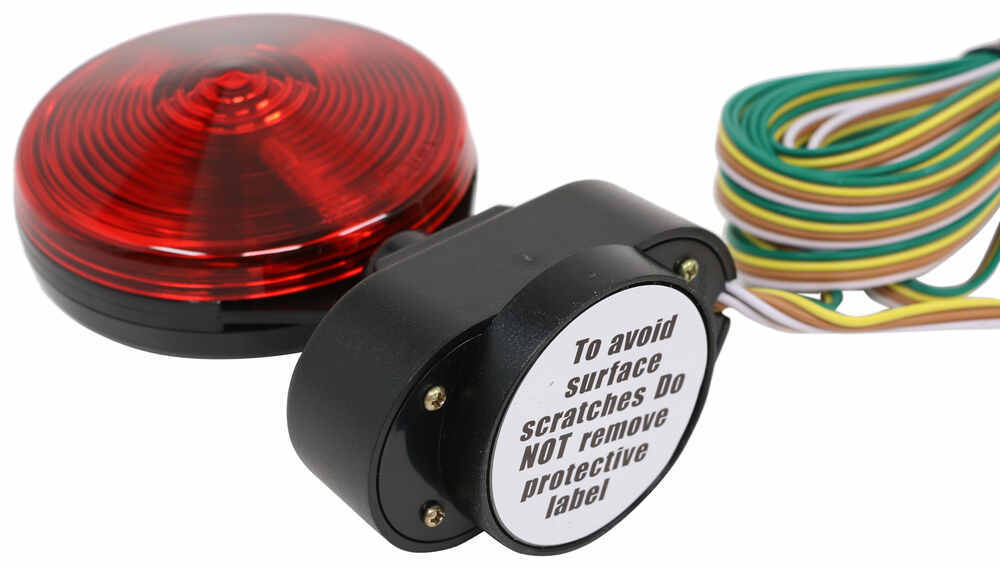 Heavy Duty Magnetic Tow Lights - 20' Wiring Harness with 4