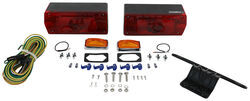 "Waterproof, Over 80"" Aero Pro Trailer Light Kit with 25' Wiring Harness"