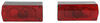 "Aero Pro Trailer Light Kit for Trailers Over 80"" Wide - Waterproof - Passenger and Driver Side Red and Amber TL36RK"