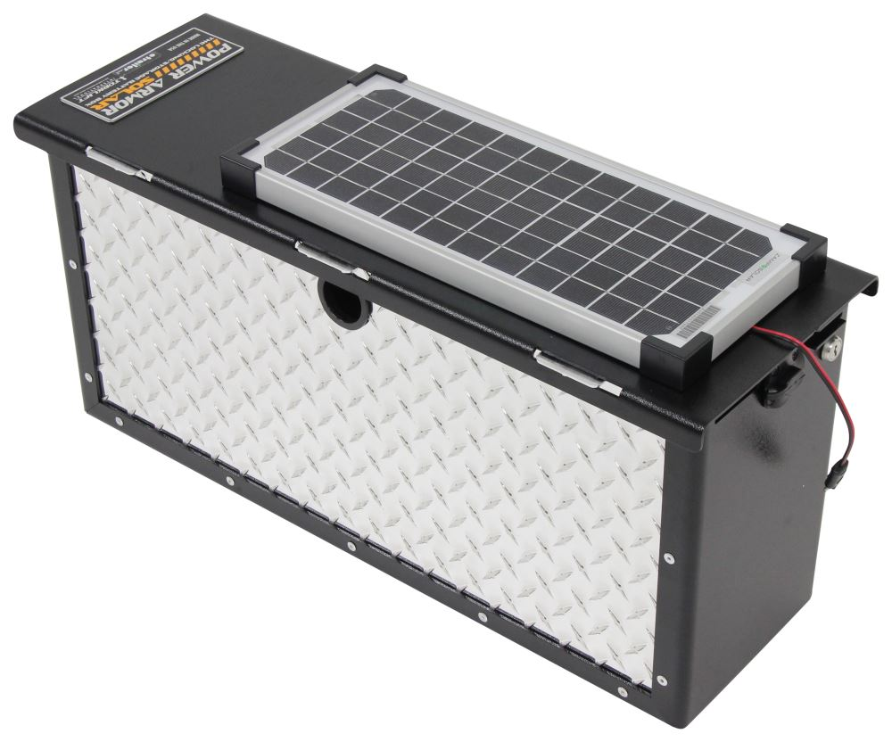 Torklift Powerarmor Solar Locking Battery Box 6v And 12v