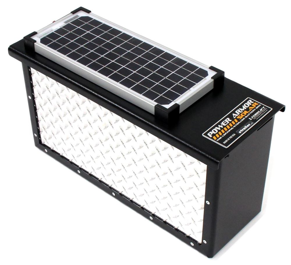 TLA7712RS - Locks,Solar Panels TorkLift Trailer Battery Box,Camper Battery Box