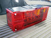 LED Combination Trailer Tail Lights - Submersible - Driver and Passenger Side - 25' Wire Harness Red TLL16RK