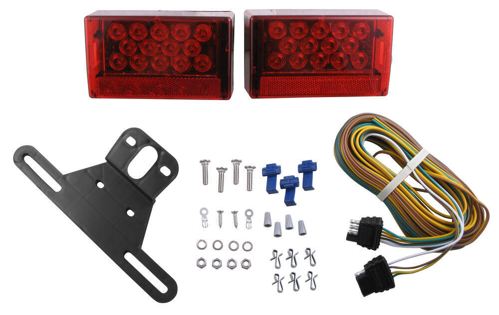 Trailer Lights TLL56RK - Red - Optronics