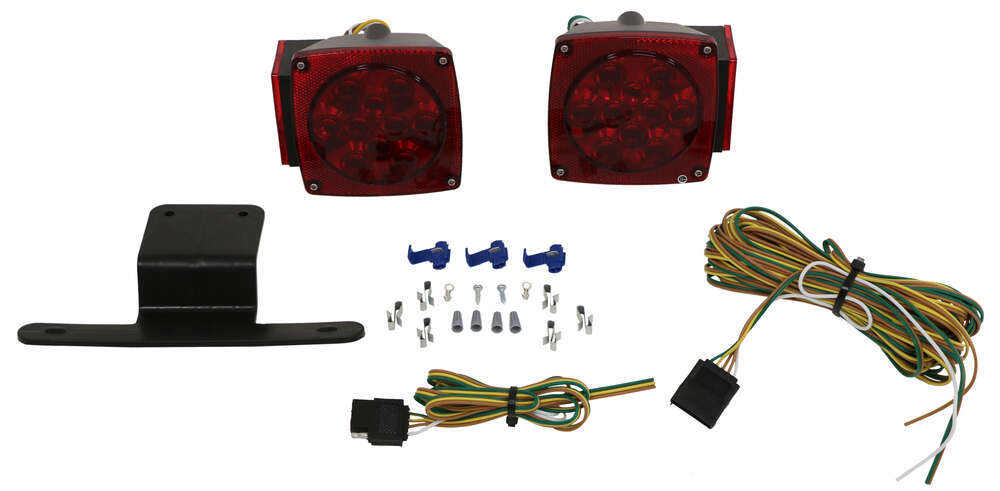 LED Combination Tail Light Kit for Trailers under 80