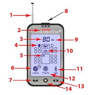 TireMinder Rhino Signal Booster Extra Strength Signal Booster for Maximum Range Minder Research Inc TM-Rhino