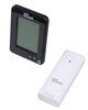 tempminder rv weather stations digital thermometer wireless and clock w/ remote sensor