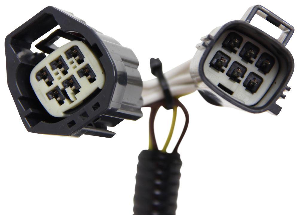 2004 Jeep Wrangler TrailerMate Custom Tail Light Wiring ...