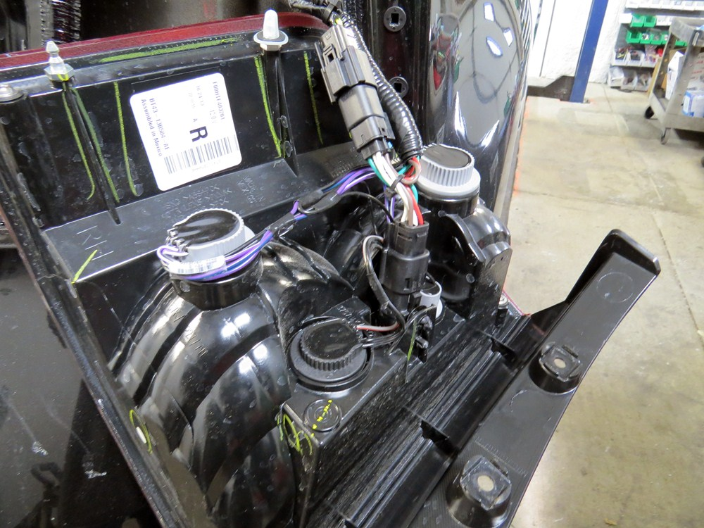 2013 Ford Edge Trailermate Custom Tail Light Wiring Kit