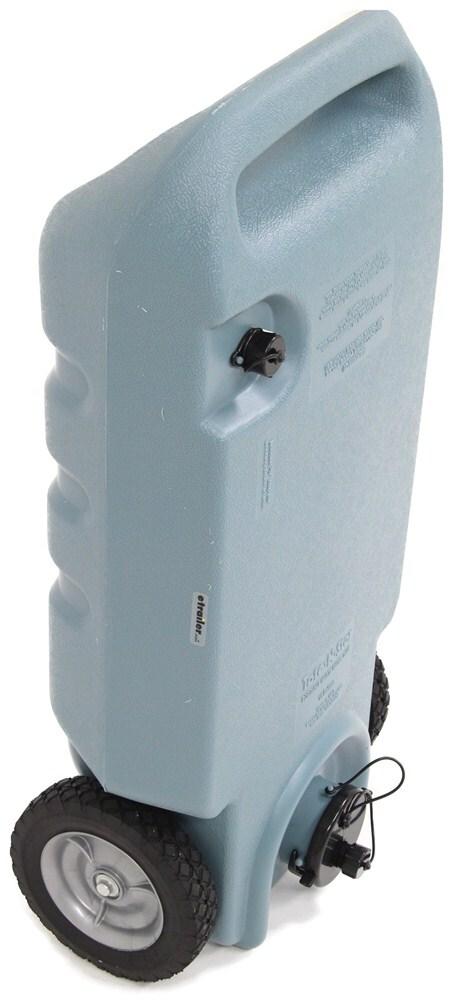 Portable Rv Tanks : Tote n stor portable rv wastewater tank wheels