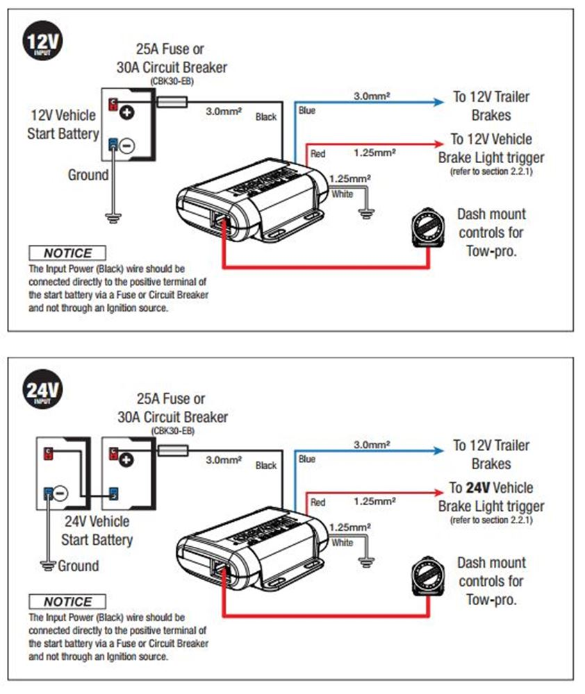 Wiring Diagram For Redarc Electric Brake Controller