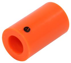 "Nylon Bushing - 9/16"" Inner Diameter, 1.024"" Outer Diameter - 1-3/4"" Long"