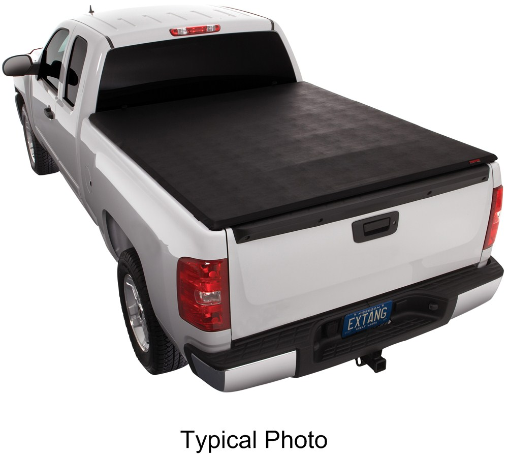 EX46760 - Gloss Black Extang Fold-Up Tonneau