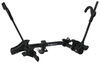 "Kuat Transfer 2 Bike Platform Rack - 1-1/4"" and 2"" Hitches - Wheel Mount - Tilting - Black 2 Bikes TS02B"