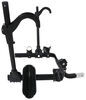 "Kuat Transfer 2 Bike Platform Rack - 1-1/4"" and 2"" Hitches - Wheel Mount - Tilting - Black Tilt-Away Rack,Fold-Up Rack TS02B"