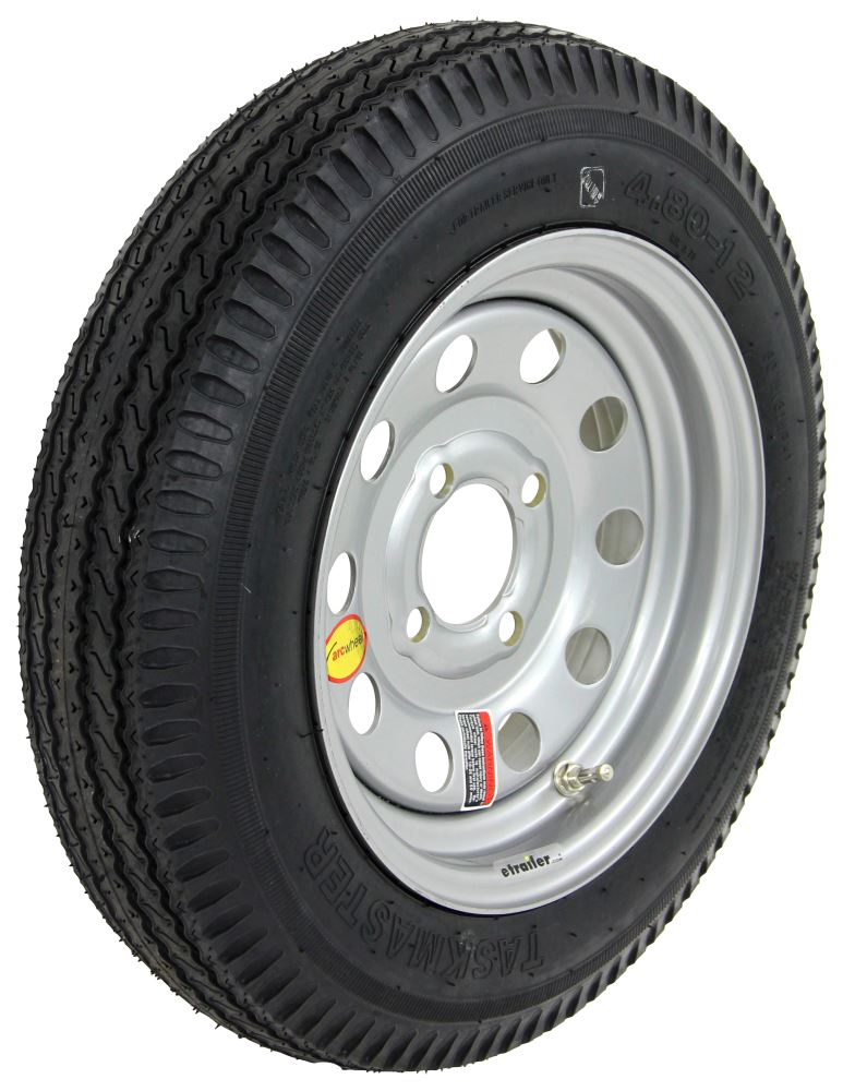TTWAS12B4SMHP - 12 Inch Taskmaster Tires and Wheels