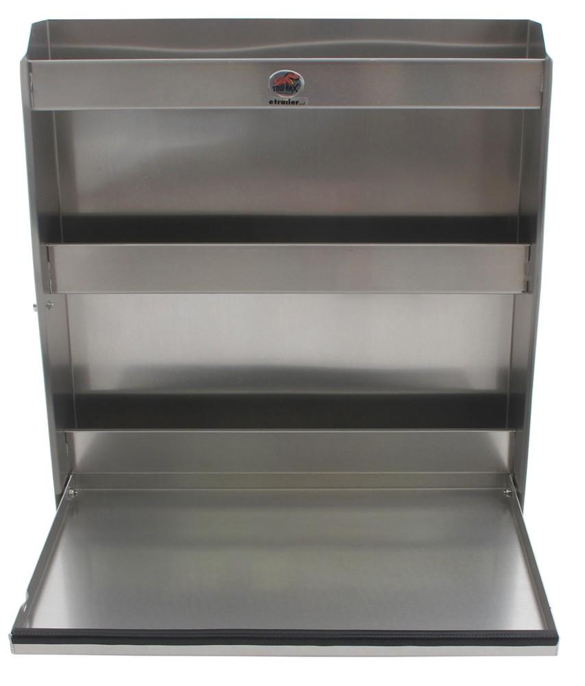 tow rax aluminum storage cabinet w folding tray 30. Black Bedroom Furniture Sets. Home Design Ideas