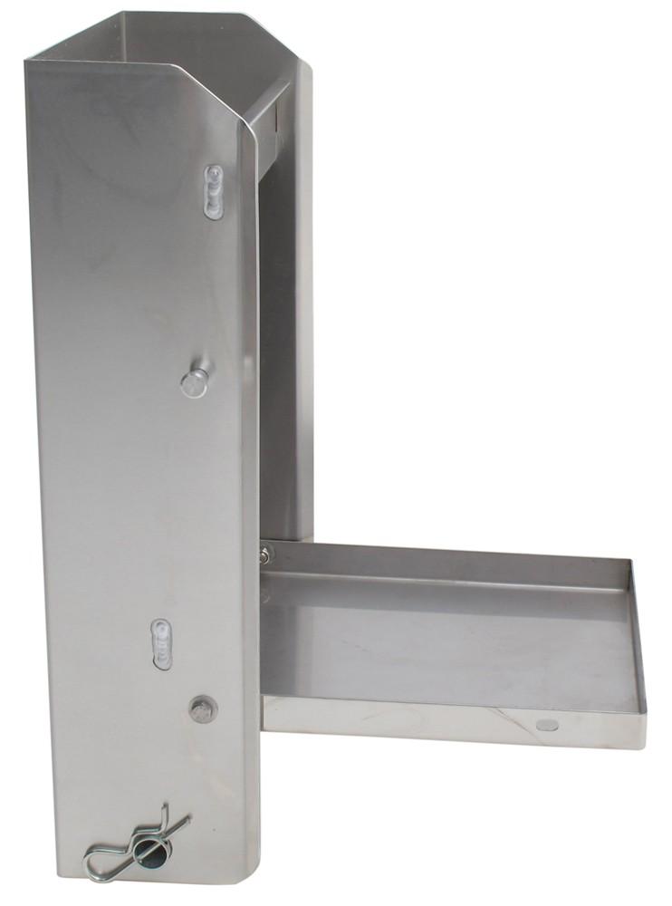 Tow Rax Aluminum Storage Cabinet W Folding Tray 23