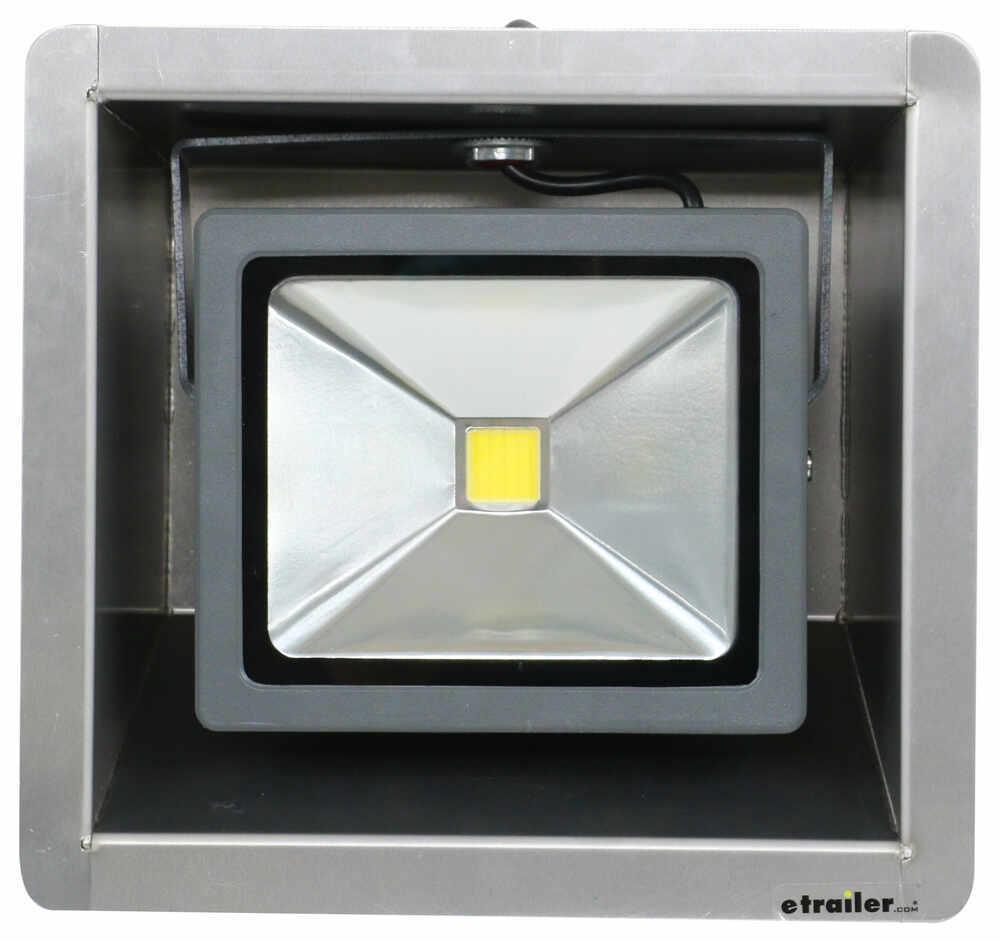 Tow Rax Recessed Led Light Trailer Lights Twsprlb2l Hylite Id Bar Wiring Lighting Trailering