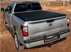 TruXedo Pro X15 Soft Tonneau Cover - Roll Up - Polyester and Vinyl - Matte Black