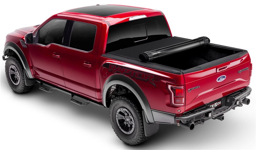 Tonneau Covers TX1550616 - Opens at Tailgate - Truxedo