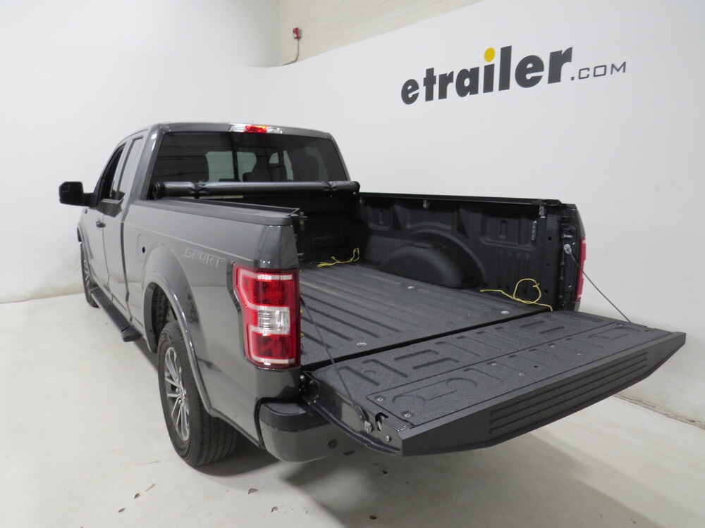 TruXedo Lo Pro Soft Roll-up Tonneau Cover - Black Truxedo ...